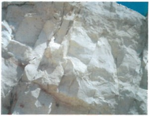 zeolite outcropping